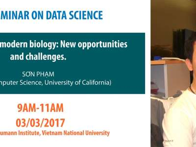 Seminar: Algorithms in modern biology: New opportunities and challenges